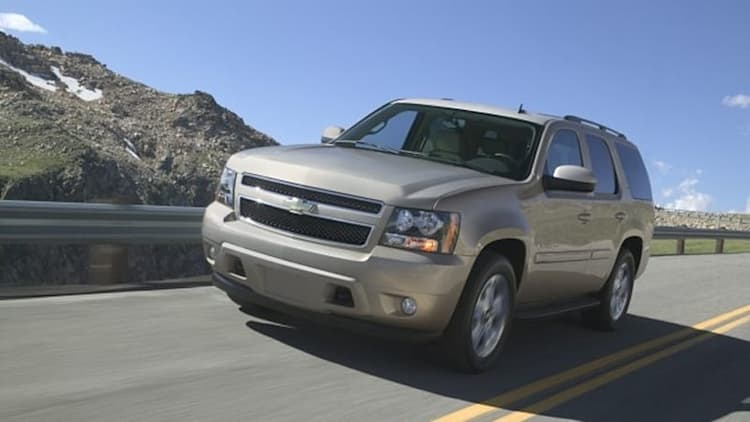 Chevy Tahoe increases MPGs by dropping the drag