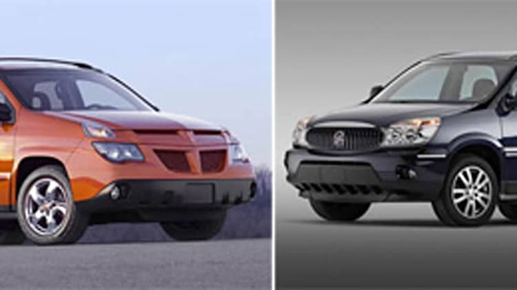 NHTSA investigating fuel leak on Aztek and Rendezvous