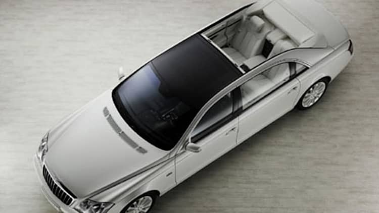 VIDEO: Maybach 62 S Landaulet