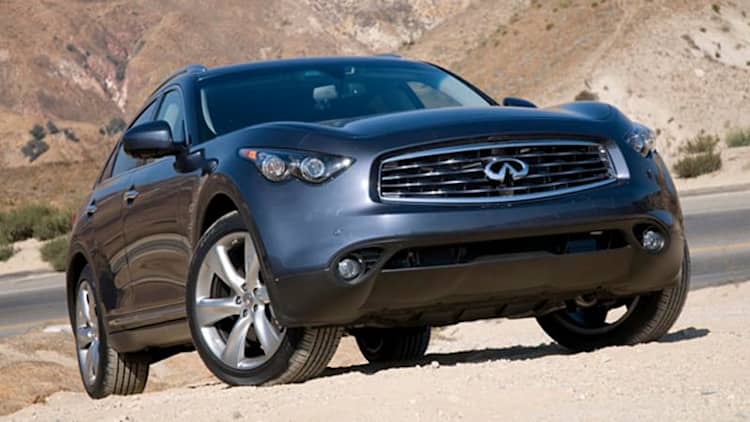 Review: 2009 Infiniti FX50 AWD