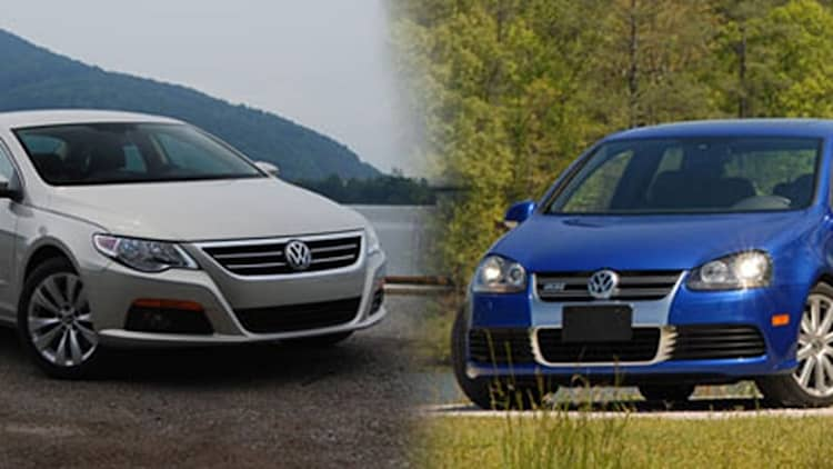 REPORT: VW recalls all 5,000 2008 R32 hot hatches, some CC sedans