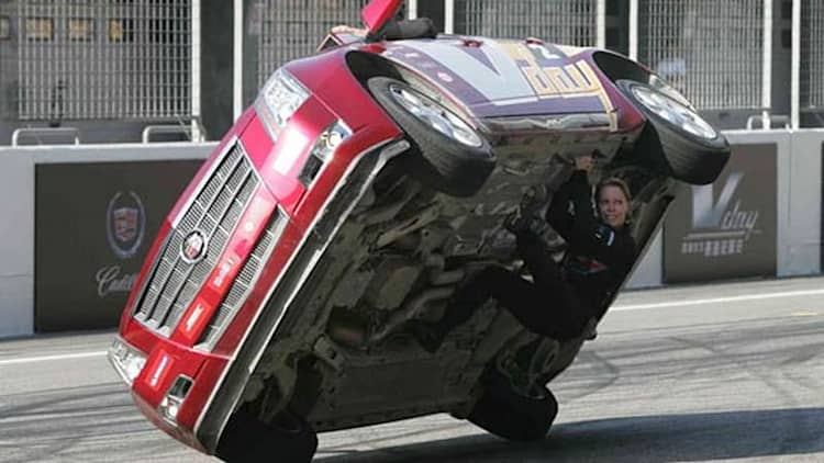 Shanghai Surprise: Cadillac CTS stunt team dazzles in China, Heinricy sets F1 track record [*UPDATED w/VIDEO]