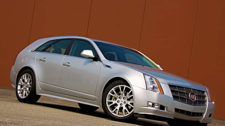 Review: 2010 Cadillac CTS Sportwagon eats up cargo, swallows open road