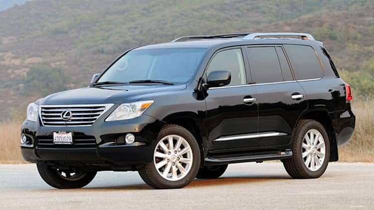 Review: 2009 Lexus LX570 is three tons of luxury with a dollop of off-road mastery