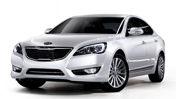 Kia Cadenza unveiled in Korea, ready to replace Amanti [w/VIDEO]
