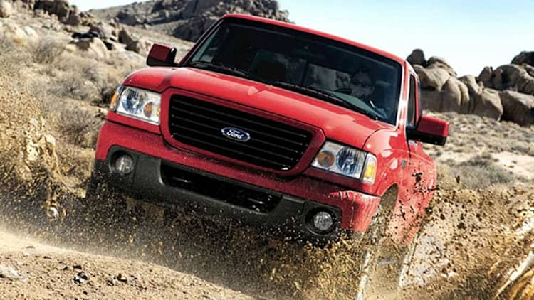 Ford recalling over 26,000 trucks over taillamp issues