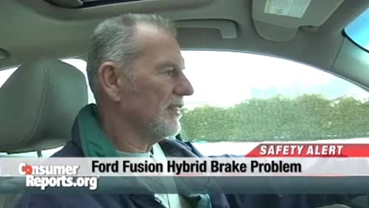 Report: Ford issues TSB fix for brake pedal on Fusion/Milan Hybrid models [w/video]