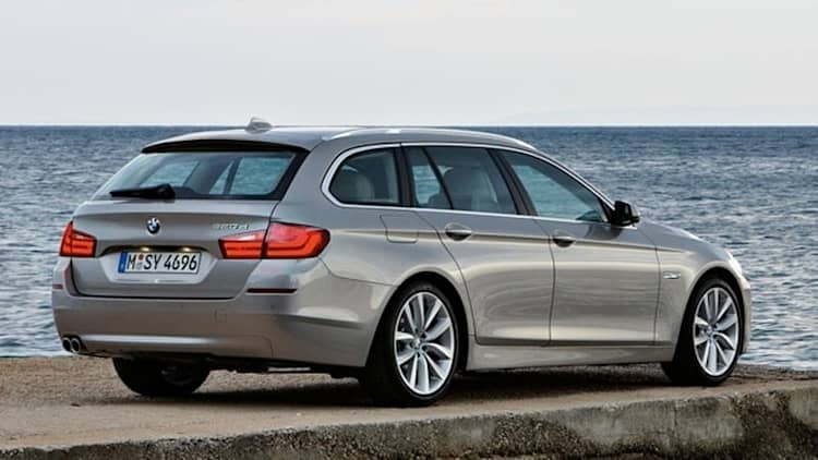 Officially Official: 2011 BMW 5 Series Touring [w/video]