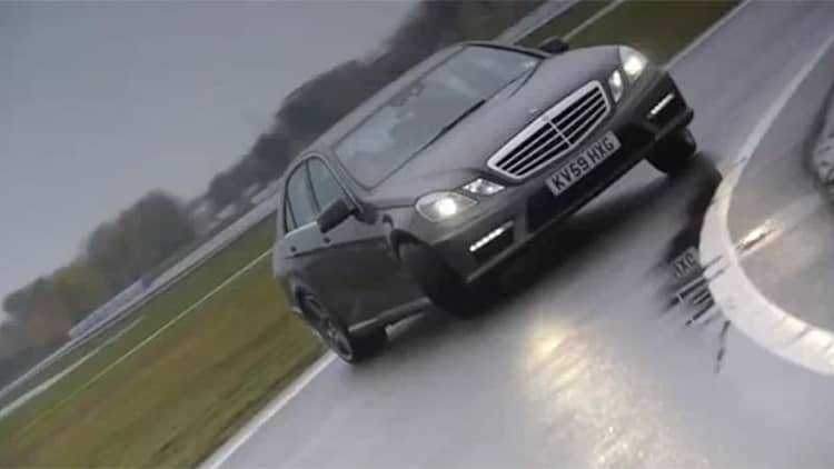 Video: Mercedes-Benz releases official hoonage footage of E63 AMG