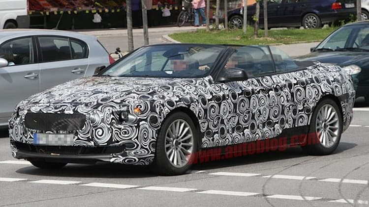 Spy Shots: Next-gen BMW 6 Series caught topless without shame