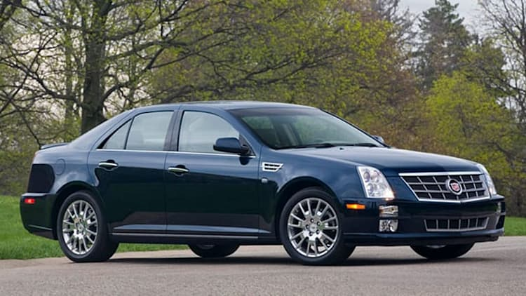 Cadillac STS trudges into 2011 model year sans V8 engine