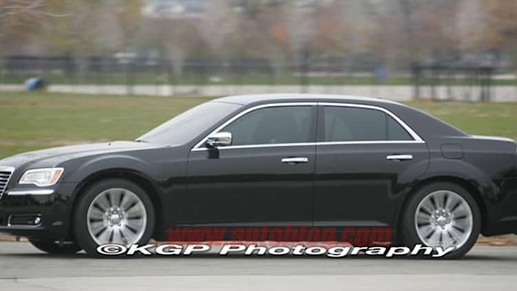 Spy Shots: 2012 Chrysler 300C caught completely undisguised