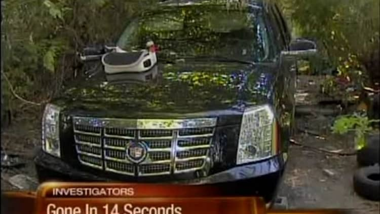 Video: Why the Cadillac Escalade is a particularly easy target for thieves