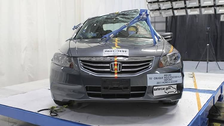 NHTSA releases second batch of crash test ratings under new system