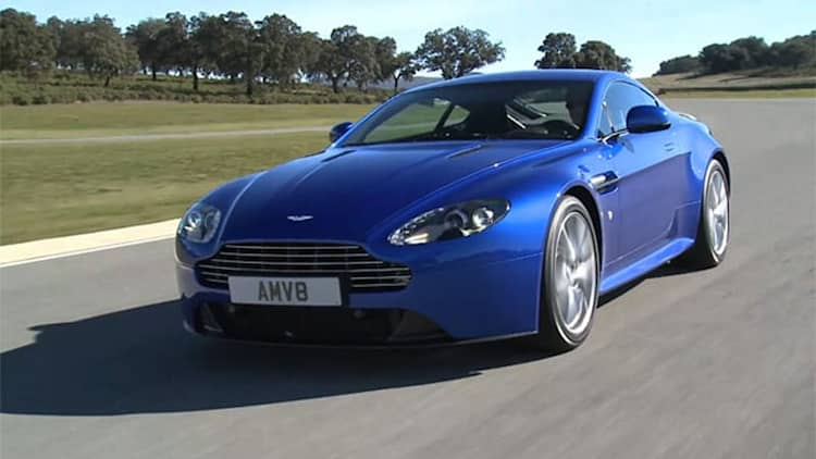 Video: Aston Martin Vantage S is music to our ears