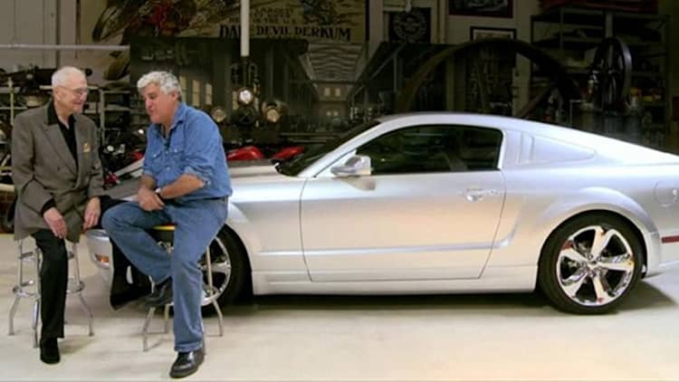 Video: Jay Leno's Garage welcomes Lee Iacocca and his special Mustang