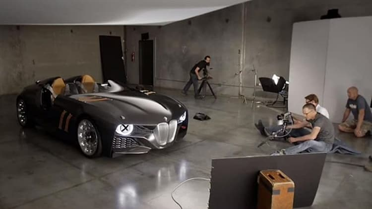 BMW 328 Hommage even sexier in motion