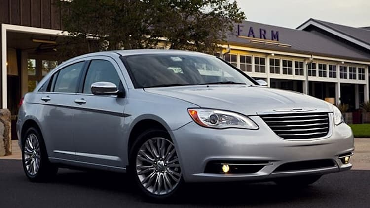 Chrysler recalling 11,000 new vehicles over steering concern *UPDATE