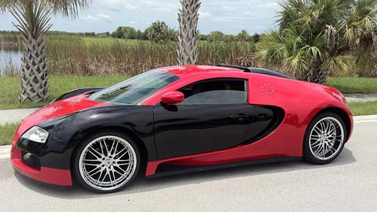 eBay Find of the Day: Mercury Cougar-turned-Veyron replica for $89K