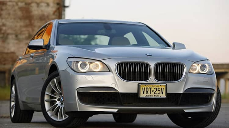 BMW 7 Series getting mid-cycle updates for 2013