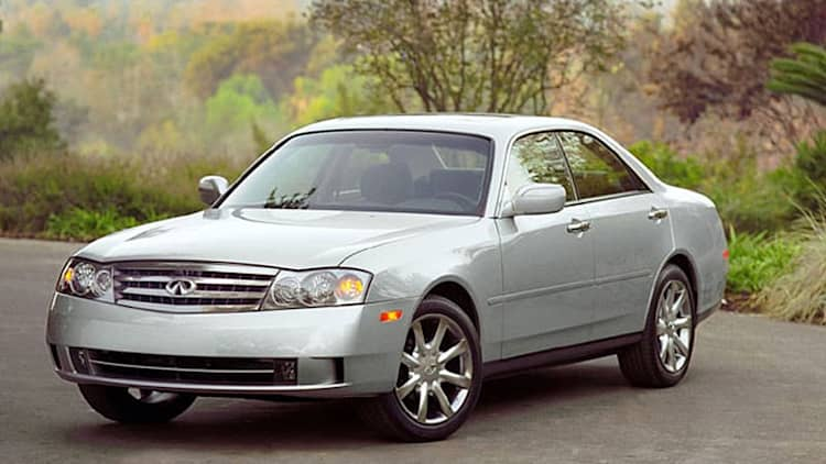 Infiniti recalling 2003-2004 M45 sedans over potential fuel gauge issue