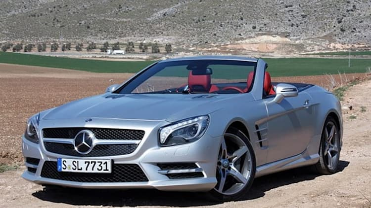 2013 Mercedes SL550 [w/video]