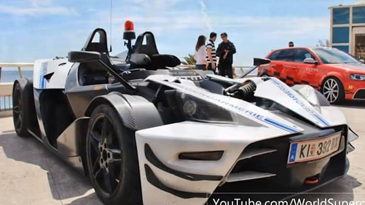 MTM-tuned KTM X-Bow R lays down the law in Monaco