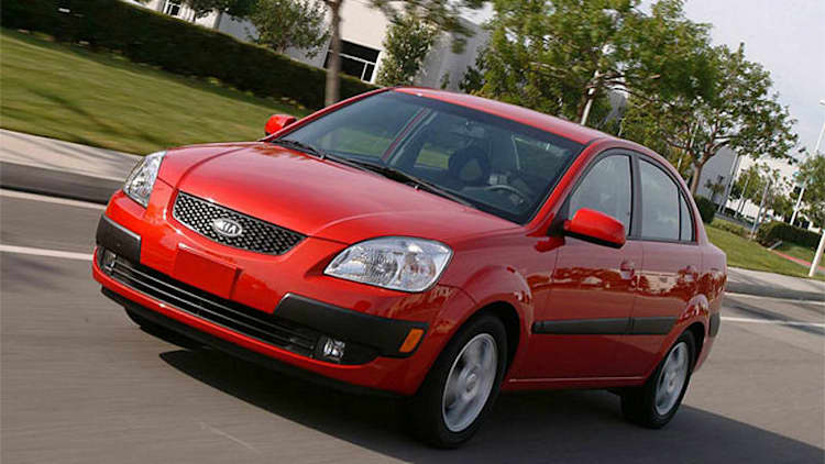 Kia recalls nearly 73,000 Rio models over airbag issue