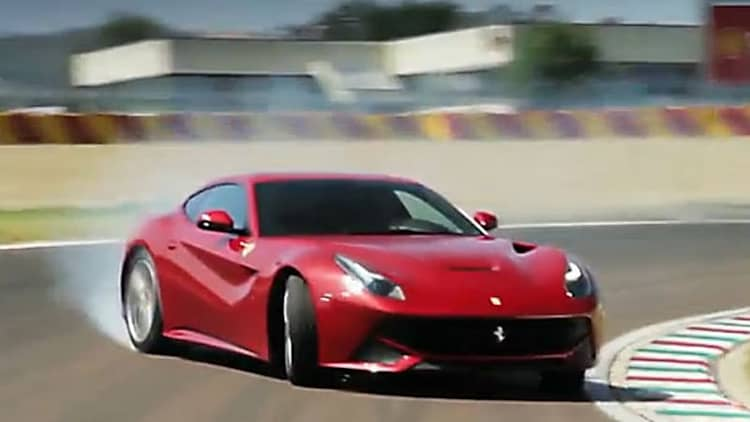 How does Ferrari's new F12 Berlinetta stack up against the 599 GTO?