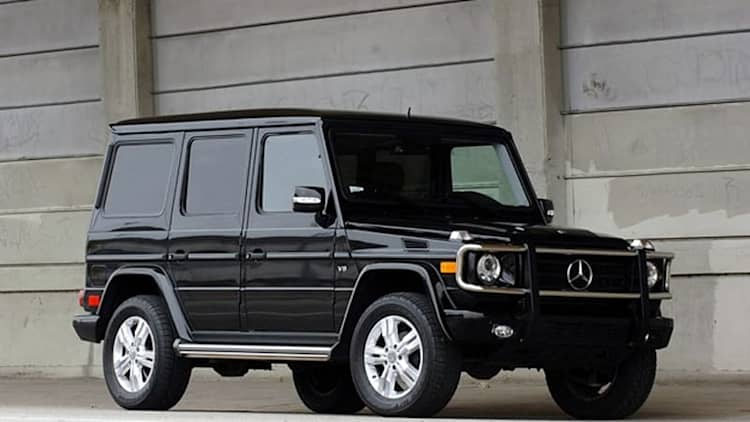 Mercedes-Benz recalling small number of G-Wagens over loose molding