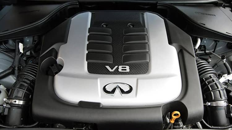 Infiniti moving away from V8 power