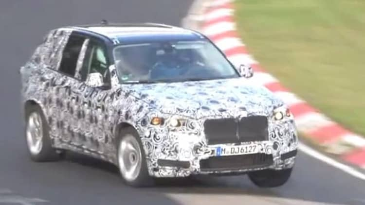 Next BMW X5 M caught bludgeoning 'Ring, sounds fierce