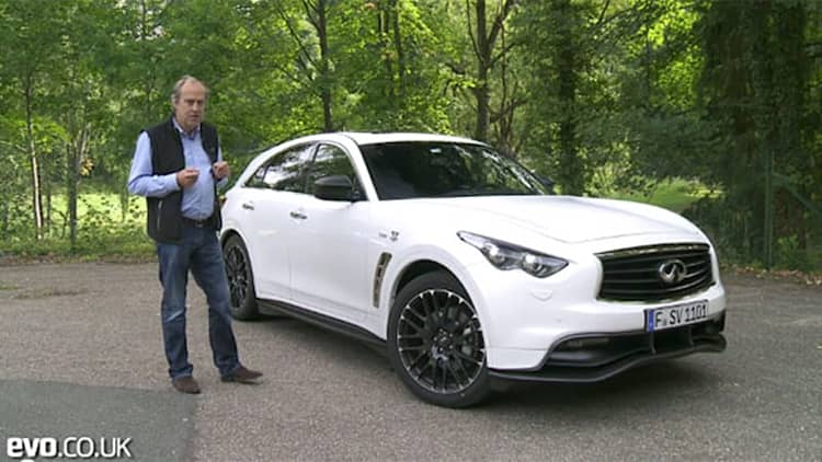 <i>Evo</i> finds the measure of Infiniti's limited-edition FX Vettel Version