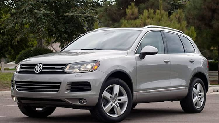 2012 Volkswagen Touareg Hybrid [w/video]