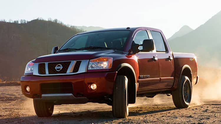Nissan adds 2013 Titan to gearshift recall