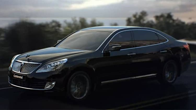 2014 Hyundai Equus facelift revealed ahead of NY debut