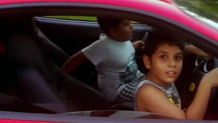 Ferrari-driving kid's parents charged by Indian police [w/video]