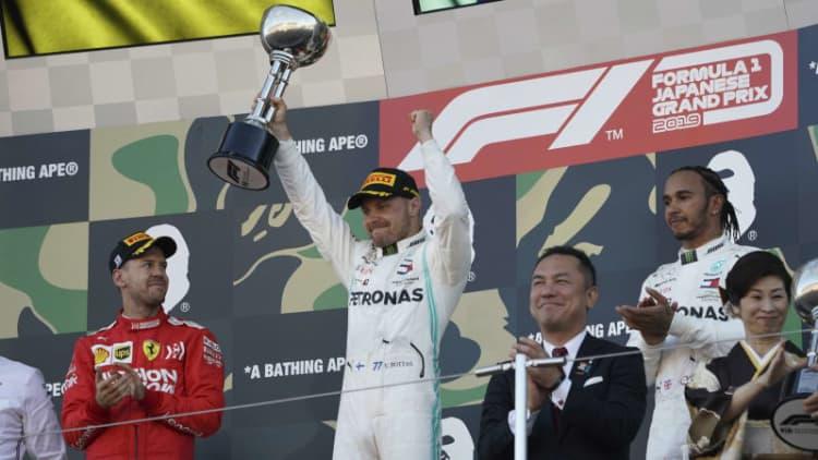 Valtteri Bottas wins the 2019 Japanese Grand Prix