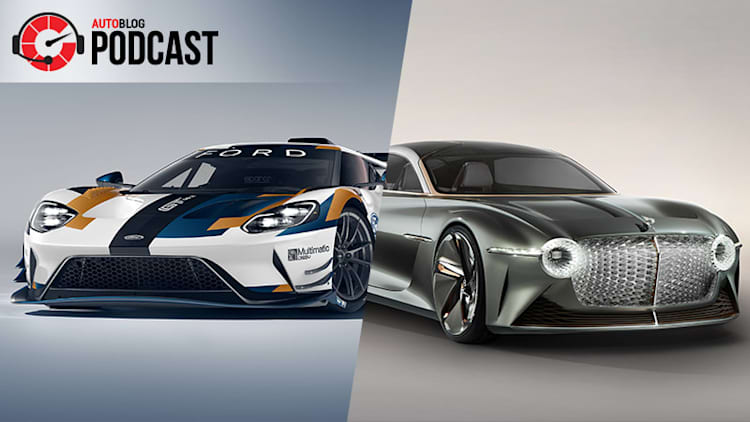 Ford GT Mk II at Goodwood, Bentley EXP 100 GT concept EV and driving the Hyundai Veloster N | Autoblog Podcast #588