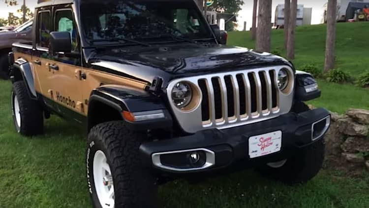 Jeep Gladiator Honcho Edition is a nostalgic dealership special