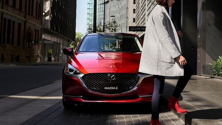 Mazda2 refreshed for 2020 with new style and tech
