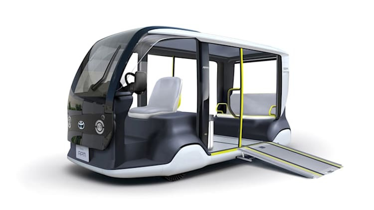 Toyota unveils 'Accessible People Mover' for 2020 Tokyo Olympic Games