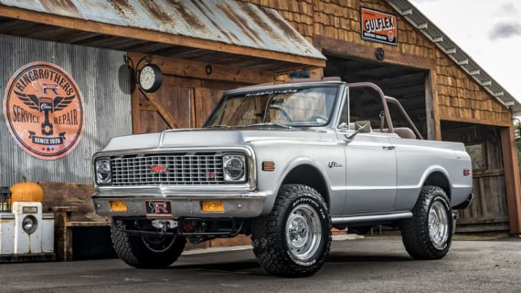 Ringbrothers 1971 K5 Chevy Blazer proudly sticks to its roots