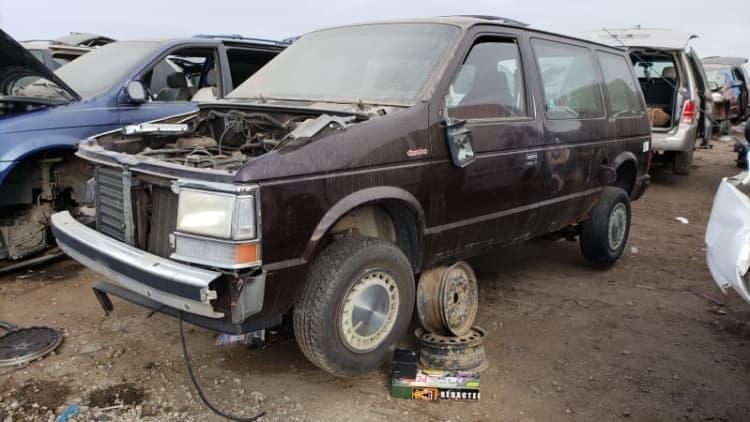 Junkyard Gem: 1990 Plymouth Voyager Turbo
