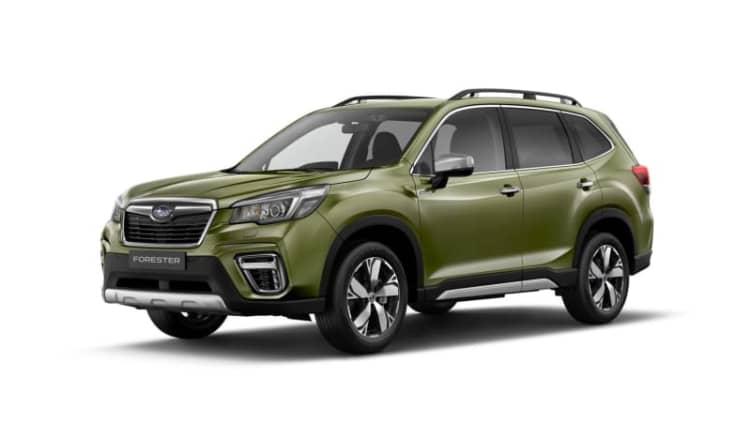 Subaru debuts Euro-spec XV and Forester e-Boxer hybrids