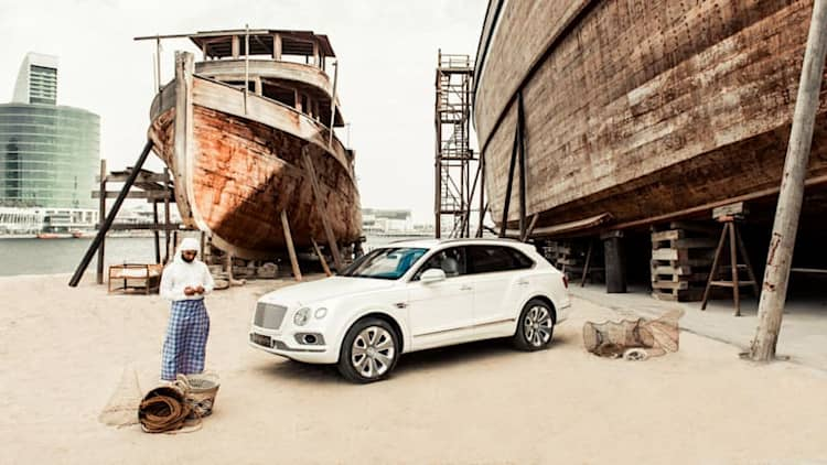 Bentley Bentayga dives deep into luxury with touches of pearl