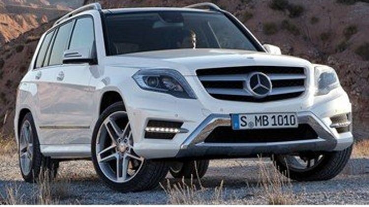 2013 mercedes benz glk250 bluetec test drive for Where do they make mercedes benz