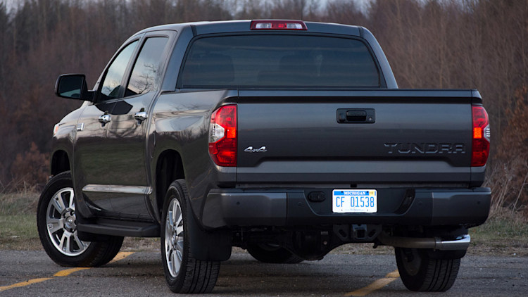 2014 toyota tundra platinum 4x4 review photo gallery autoblog. Black Bedroom Furniture Sets. Home Design Ideas
