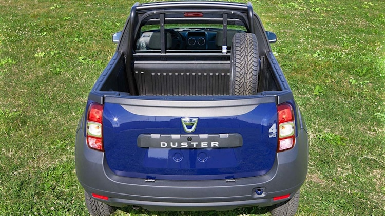 dacia duster pick up photo gallery autoblog. Black Bedroom Furniture Sets. Home Design Ideas