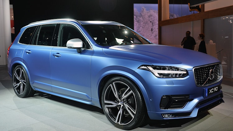 2015 Volvo Xc90 R Design Detroit 2015 Photo Gallery